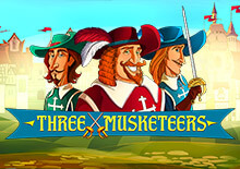 Three Musketeers online-peli